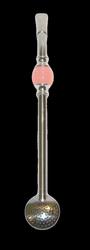 Bombilla Bomba z kamieniem - różowa 21cm