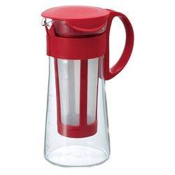 Hario - Mizudashi Coffee Pot Mini - Czerwony 600ml