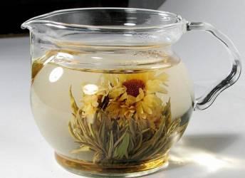Herbata biała kwitnąca - Trzy Chryzantemy