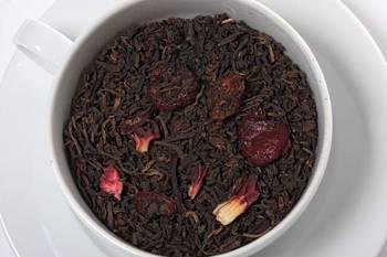 Herbata czerwona - Pu Erh Wiśnie w Rumie