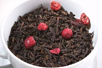 Herbata czerwona - Pu Erh Żurawinowa