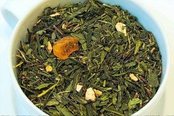 Herbata zielona - Imbir i Pigwa