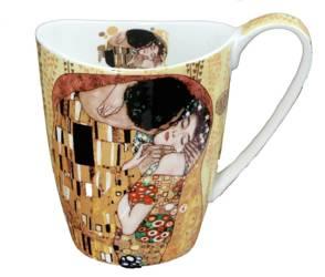 Kubek Vanessa - Gustav Klimt - The Kiss - Carmani