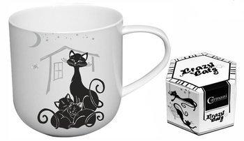 Kubek porcelanowy koty 460ml Crazy Cats Carmani