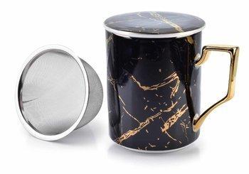 Kubek z zaparzaczem CRISTIE BLACK 400ml Mondex