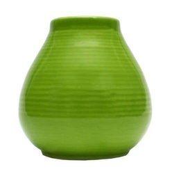 Matero Ceramiczne Pera zielone w prążki