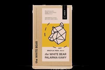 The White Bear Brazylia / Indie 1000g kawa ziarnista