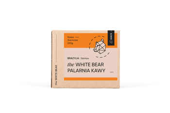 The White Bear Brazylia Santos 250g kawa ziarnista