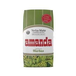 Yerba Mate Amanda Compuesta Con Hierbas 500g