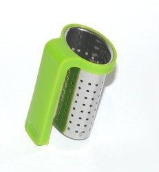 Zaparzacz sitko do zawieszenia na kubku zielony
