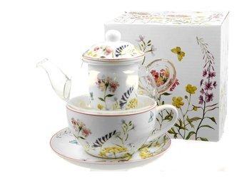 Zestaw TEA FOR ONE Filiżanka + Imbryk ALICE Duo