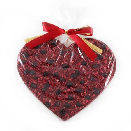 Cortez Serce Maxi ciemna czekolada malina-jagoda