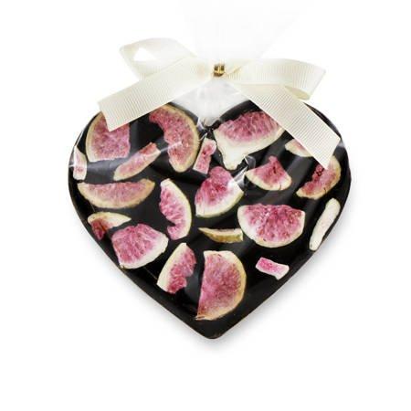 Cortez Serce z ciemnej czekolady z figami 80g
