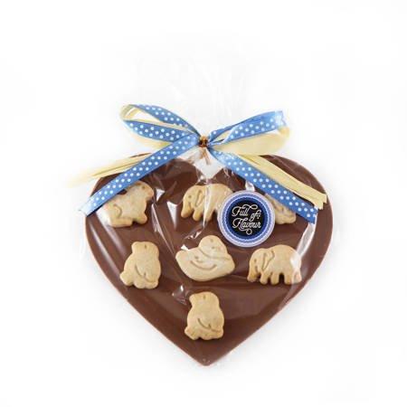 Cortez Serce z czekolady z ciasteczkami i miodem