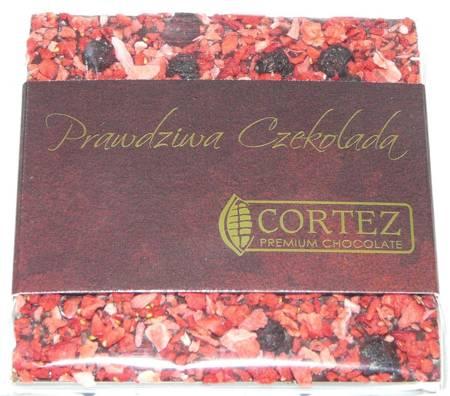 Cortez mini-czekolada ciemna truskawki i jagody