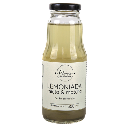 Eterno - Lemoniada Mięta i Matcha 300ml