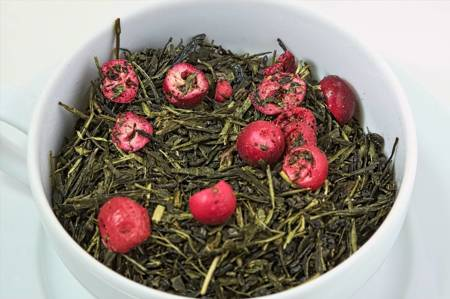 Herbata zielona - Porzeczkowy Sorbet