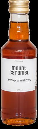 Mount Caramel - syrop waniliowy 200ml