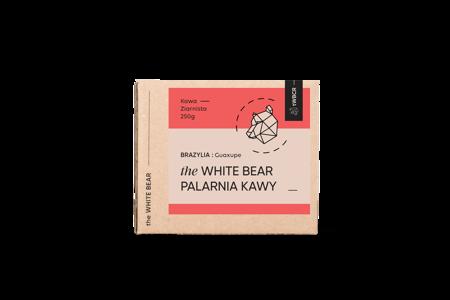 The White Bear Brazylia Guaxupe 250g kawa ziarnista
