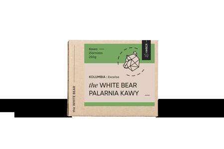 The White Bear Kolumbia Excelso 250g kawa ziarnista