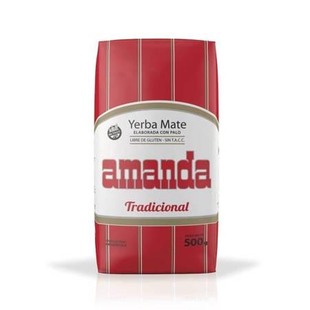 Yerba Mate Amanda Tradicional 500g