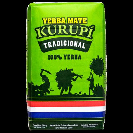 Yerba Mate Kurupi Traditional Elaborada 500g